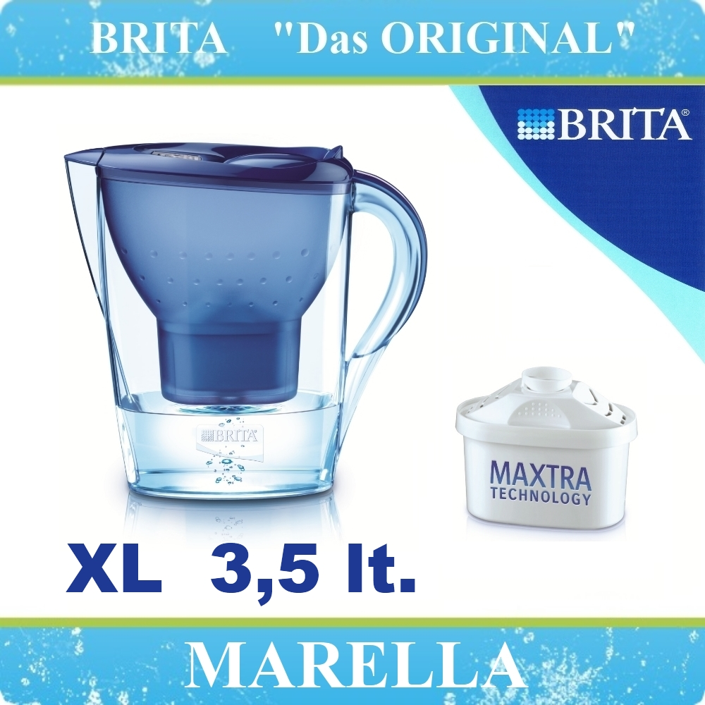 brita marella xl maxtra wasserfilter kanne wasser filter. Black Bedroom Furniture Sets. Home Design Ideas