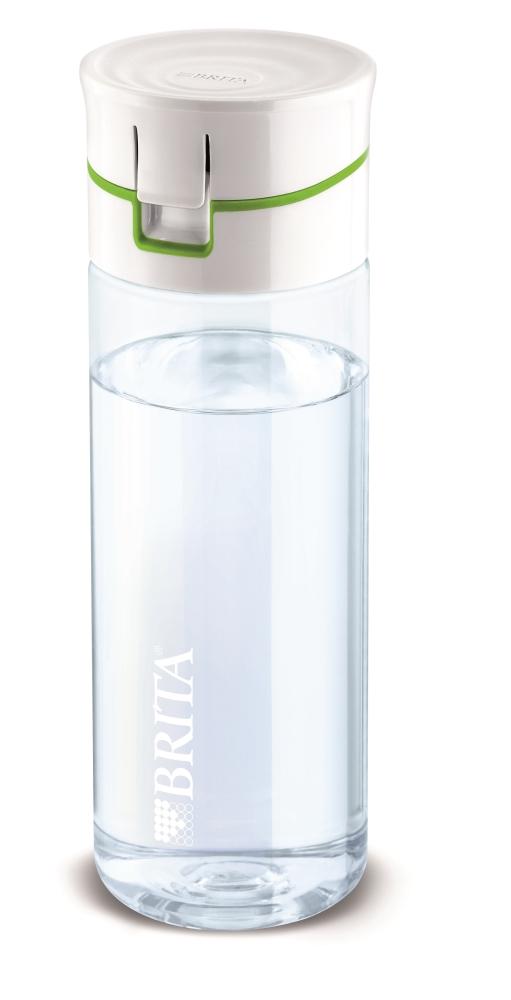 1 brita fill go gr n wasser trink flasche mit 4 filter discs extra zaini 39 s ebay. Black Bedroom Furniture Sets. Home Design Ideas