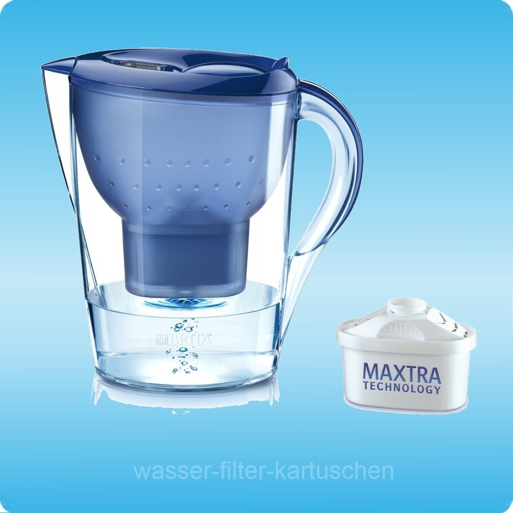 1 brita marella cool blau wasserfilter mit 1 maxtra kartusche extra zaini 39 s. Black Bedroom Furniture Sets. Home Design Ideas
